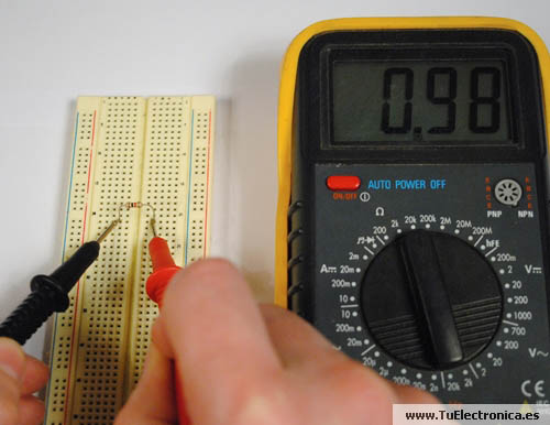 Multimetro basico 06