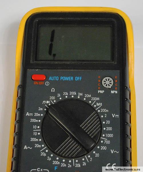 Multimetro basico 09