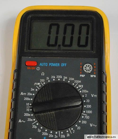 Multimetro basico 13