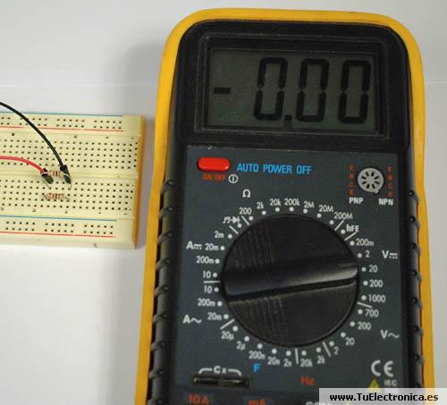 Multimetro basico 20