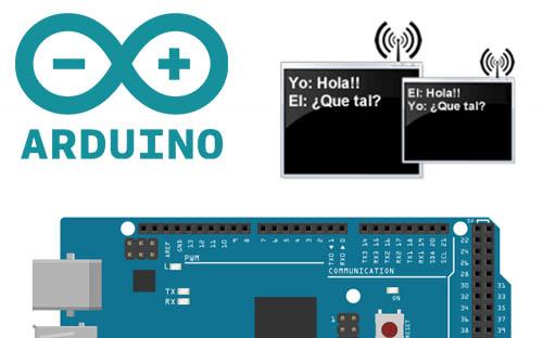 Chat inalámbrico con Arduinos y APC220