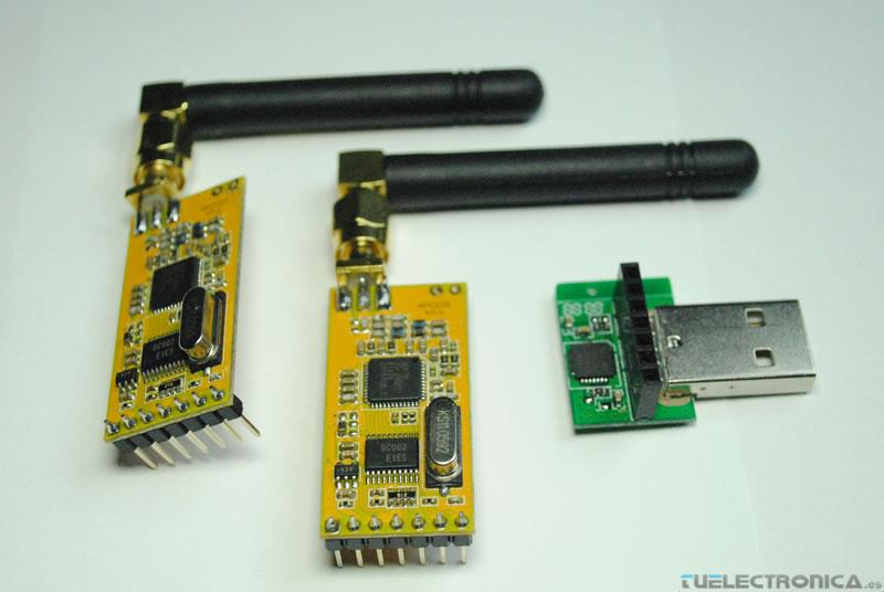 Arduino y módulo inalámbrico RF