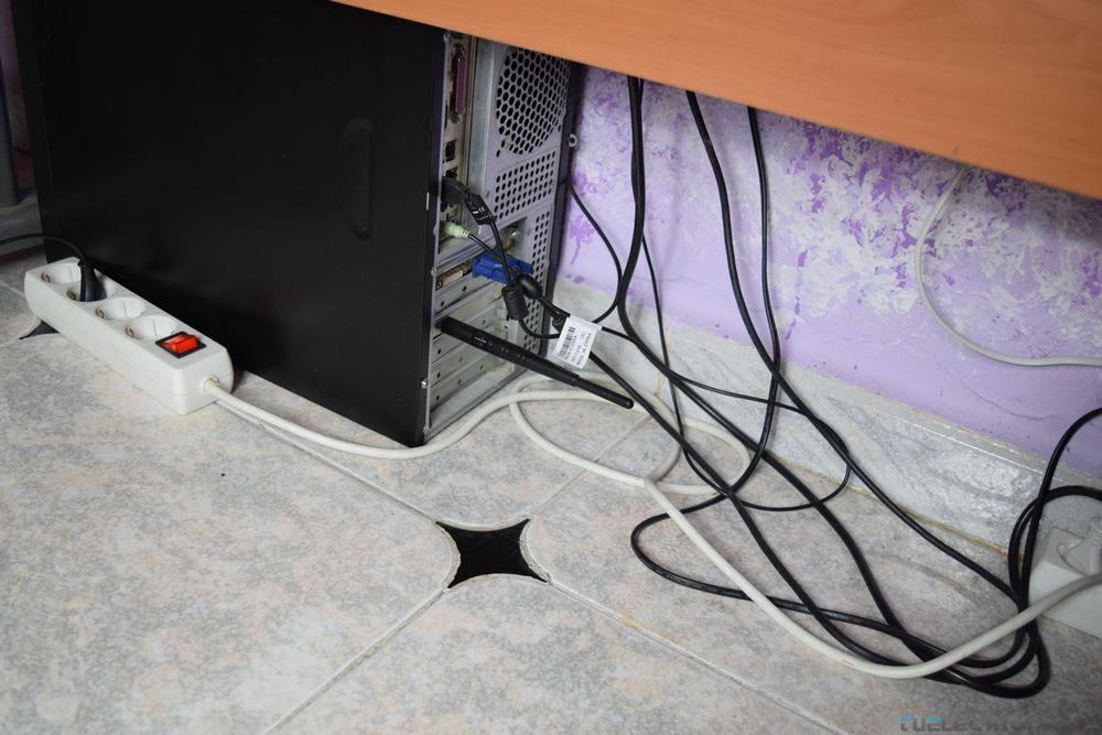 antena con poca visibilidad de la señal wifi