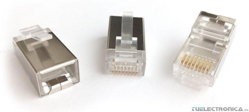 conector rj45 apantallado