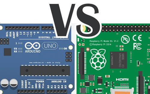 arduino vs raspberry pi th