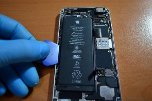 Cambiar batería iPhone 6 01