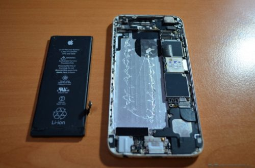 Cambiar batería iPhone 6 02