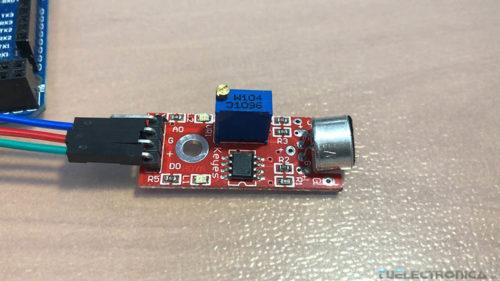 Módulo detector de sonido