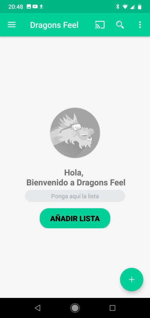 Añadir lista dragons fell metodo 1