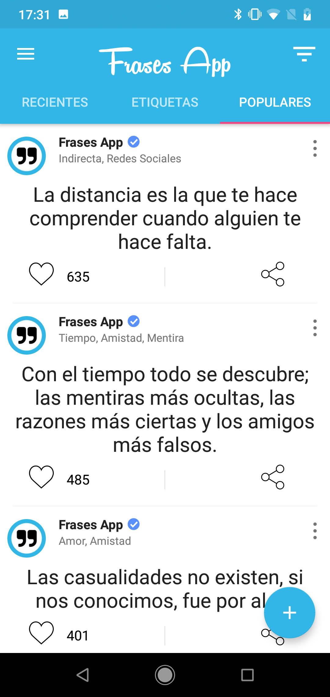 Frases Bonitas Top 5 Apps Para Tu Móvil Tuelectronicaes