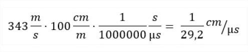 formula velocidad del sonido