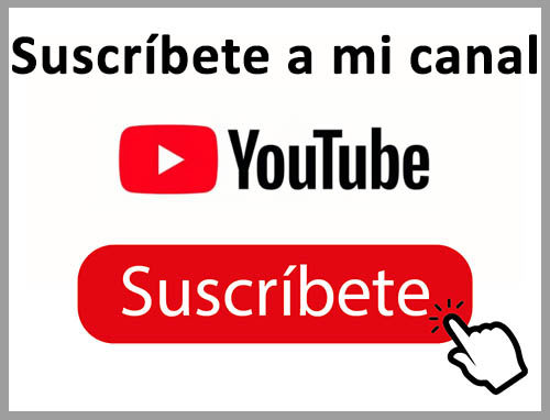 suscribete a mi canal de youtube