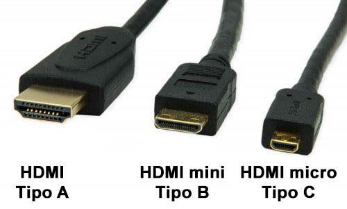 tipos de conector hdmi