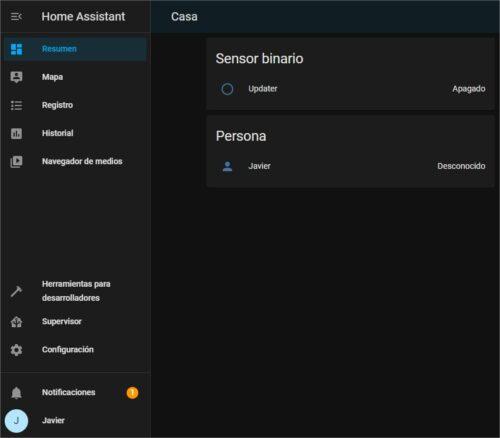 Resumen - Home Assistant - Google Chrome